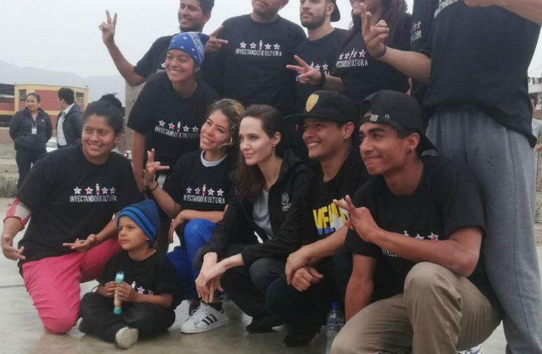 Angelina Jolie llega a Perú para conocer casos de los refugiados venezolanos