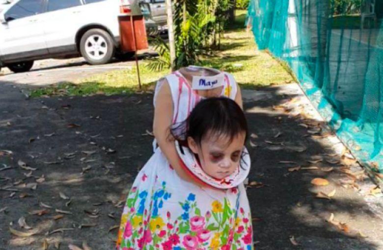 Maya, mejor disfraz de halloween