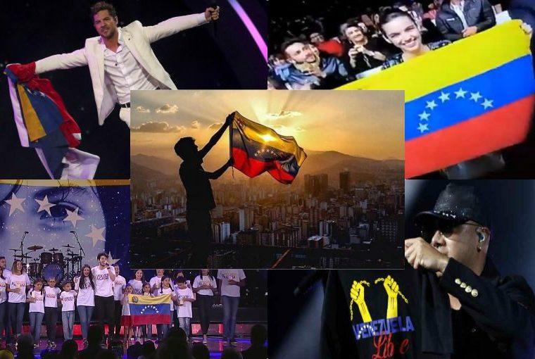 Viña del Mar 2019: estrellas se unen por la ¡LIBERTAD! de Venezuela