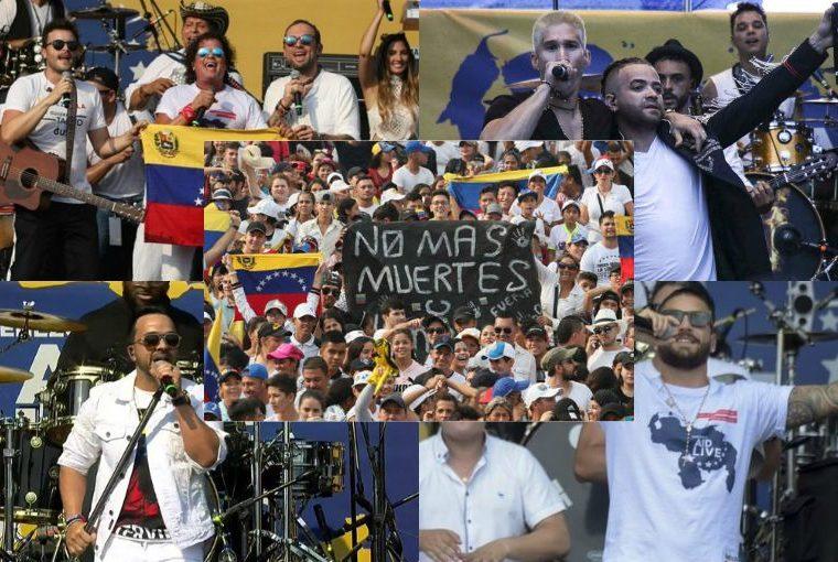'Estamos Contigo': famosos se unen para interpretar un tema en apoyo a Venezuela