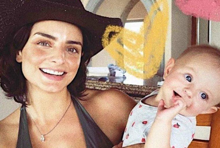 Aislinn Derbez defiende la crianza de su bebita