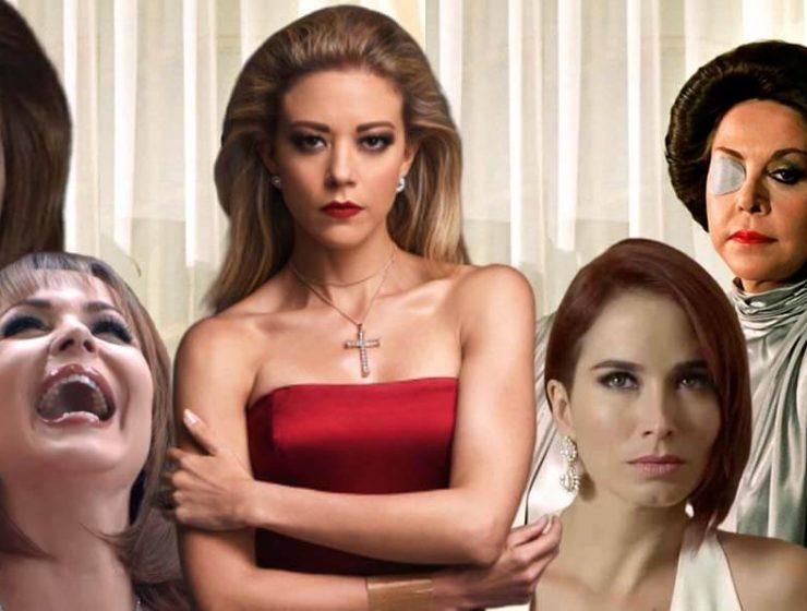 Villanas de telenovelas y narcoseries