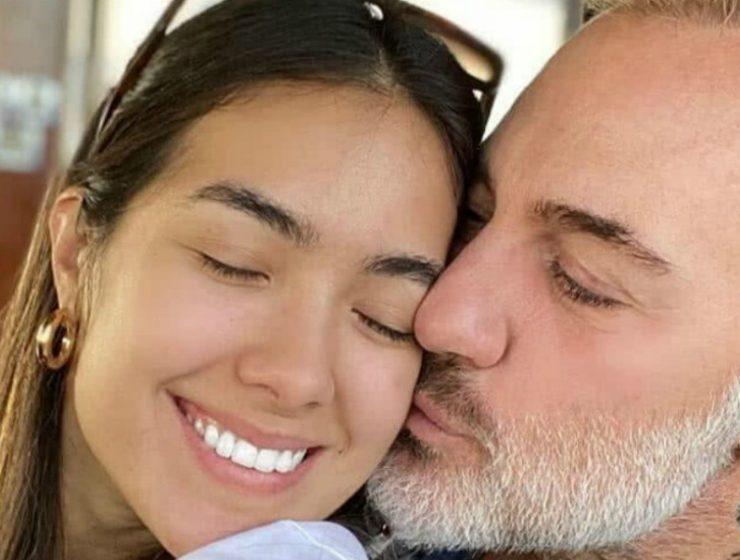 Gianluca Vacchi y Sharon Fonseca