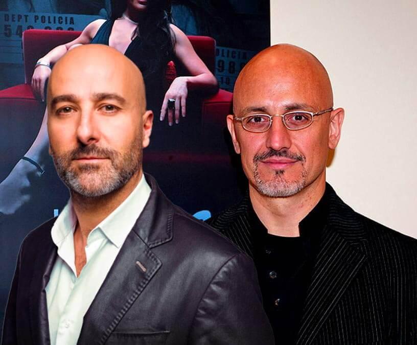 Antonio Gil y Alberto Jiménez, intérpretes del ruso Oleg en La Reina del Sur